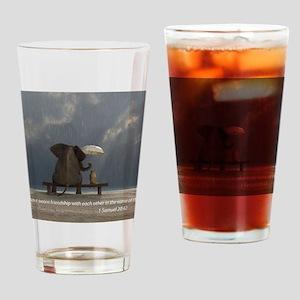 Friends Drinking Glass