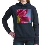 pink gerbera daisy pillow Hooded Sweatshirt