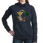 Champagne Party Celebration Hooded Sweatshirt