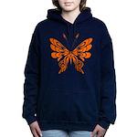 'Butterfly Tattoos Women's Hooded Sweatshirt