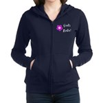 Girls Rule Women's Zip Hoodie