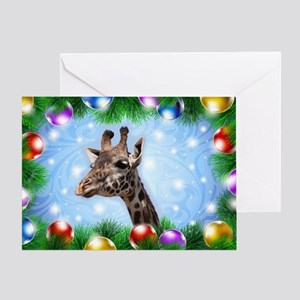 Happy Giraffe Greeting Cards