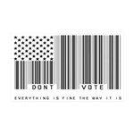 Don't Vote Everything Is Fine 35x21 Wall Decal