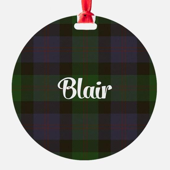 Blair Tartan Ornament