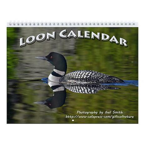Loon Wall Calendar