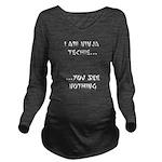 ninjatechnie Long Sleeve Maternity T-Shirt