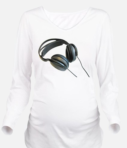 crew_sound.png Long Sleeve Maternity T-Shirt