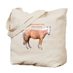 Tote Bag, Curly Stallion
