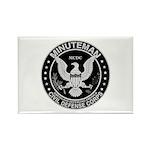 Minuteman Civil Defense Rectangle Magnet (10 pack)