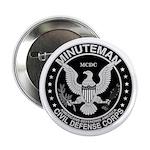 Minuteman Civil Defense Button