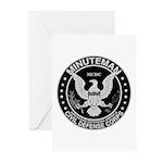 Minuteman Civil Defense Greeting Cards (Package of
