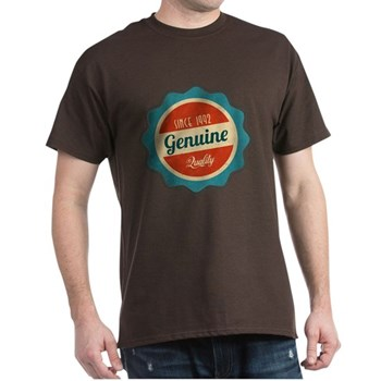 Retro Genuine Quality Since 1992 Dark T-Shirt