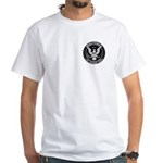 Minuteman Civil Defense White T-Shirt
