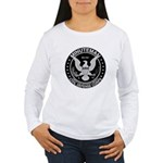 Minuteman Civil Defense Women's Long Sleeve T-Shir