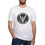 Minuteman Civil Defense Fitted T-Shirt