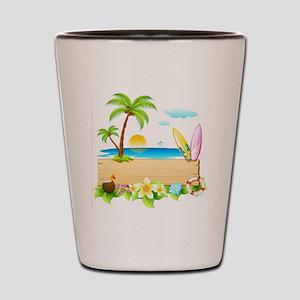 Tropical Surd Shot Glass
