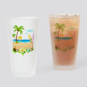 Tropical Surd Drinking Glass