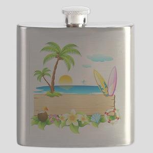 Tropical Surd Flask