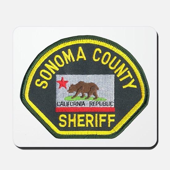 Sonoma County Sheriff Mousepad
