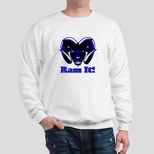Blue Ram It Sweatshirt