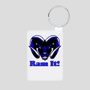 Blue Ram It Keychains