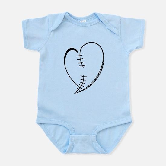 Left Congenital Heart Defect Scar Design Body Suit