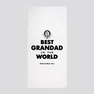 The Best in the World Best Grandad Beach Towel
