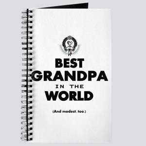The Best in the World Best Grandpa Journal