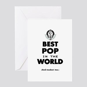 The Best in the World Best Pop Greeting Cards