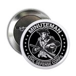 Minuteman Civil Defense Button