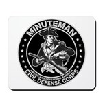 Minuteman Civil Defense Mousepad
