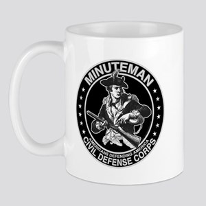 Minuteman Civil Defense Mug