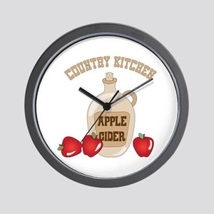 COUNTRY KITCHEN Wall Clock