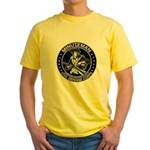 Minuteman Civil Defense Yellow T-Shirt