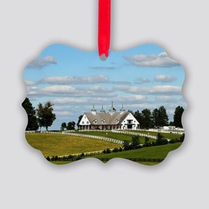 Kentucky Scenic Picture Ornament