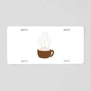 Hot Chocolate Aluminum License Plate