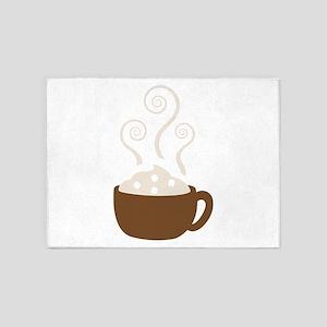 Hot Chocolate 5'x7'Area Rug