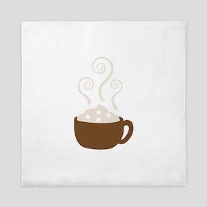 Hot Chocolate Queen Duvet