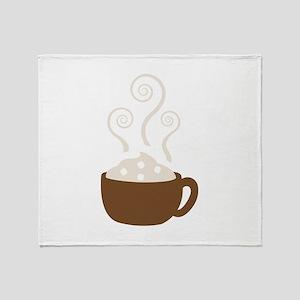 Hot Chocolate Throw Blanket