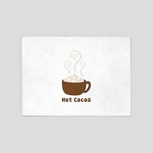 Hot Cocoa 5'x7'Area Rug