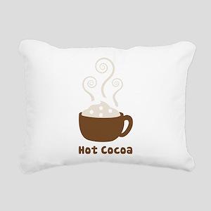 Hot Cocoa Rectangular Canvas Pillow