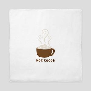 Hot Cocoa Queen Duvet