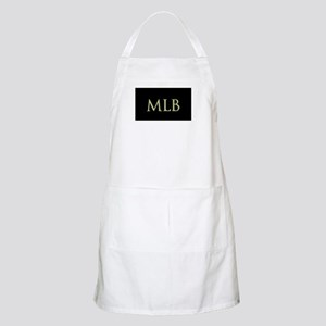 Monogram in Large Letters Apron