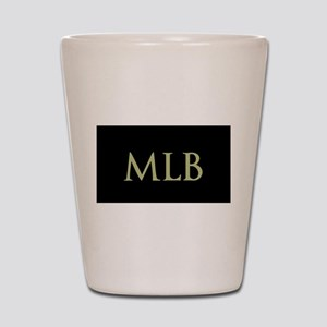 Monogram in Large Letters Shot Glass