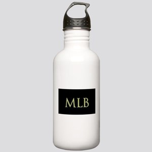 Monogram in Large Letters Water Bottle