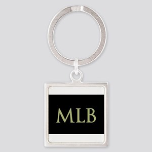 Monogram in Large Letters Keychains