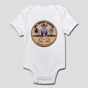 USS Jimmy Carter SSN 23 Infant Bodysuit
