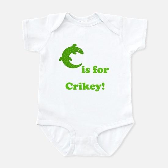 C is for Crikey! Infant Bodysuit