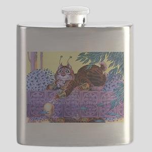 Alien Kitty Flask