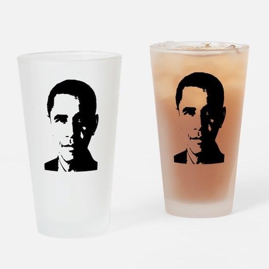 Barack Obama Drinking Glass